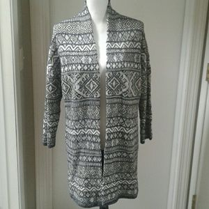 Lucky Brand Open Duster Cardigan